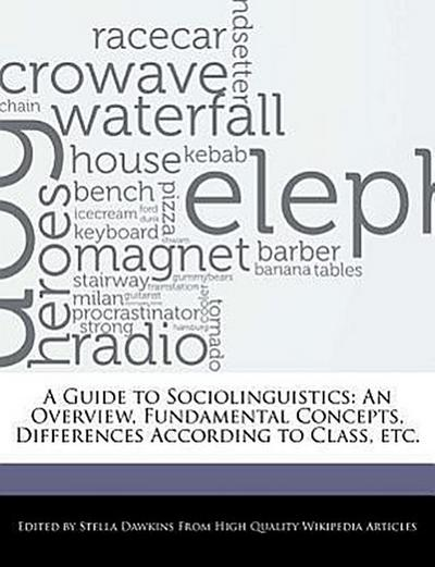 A Guide to Sociolinguistics: An Overview, Fundamental Concepts, Differences According to Class, Etc.