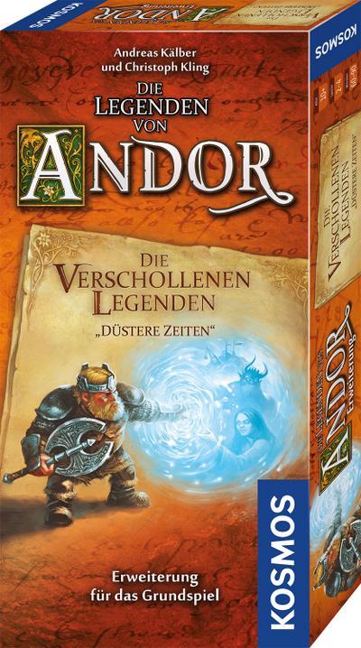 """Die Legenden von Andor - Die verschollenen Legenden """"Düstere Zeiten"""" (Spiel-Zubehör)"""