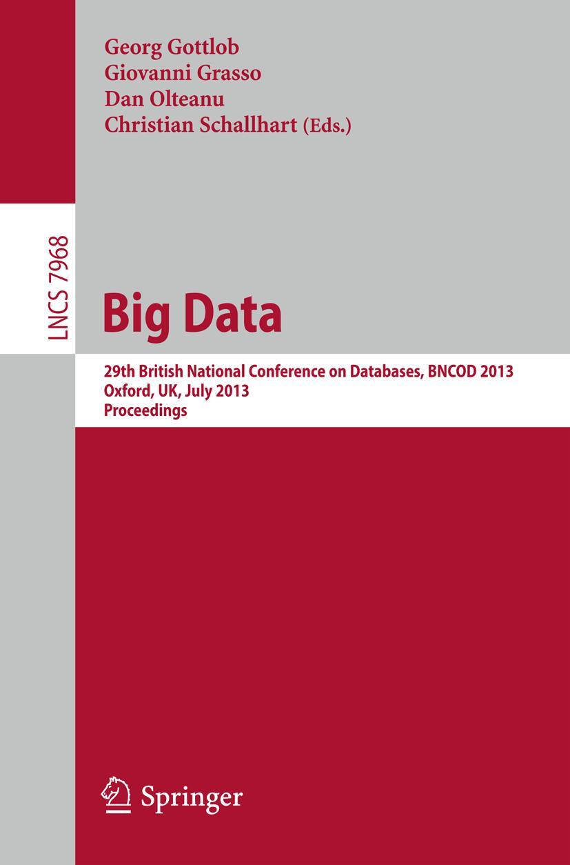 Big Data, Georg Gottlob