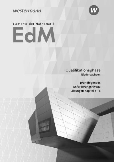 Elemente der Mathematik SII. Qualifikationsphase gA Grundkurs: Lösungen 2. Niedersachsen