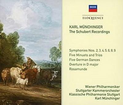 Karl Münchinger: Die Schubert-Aufnahmen