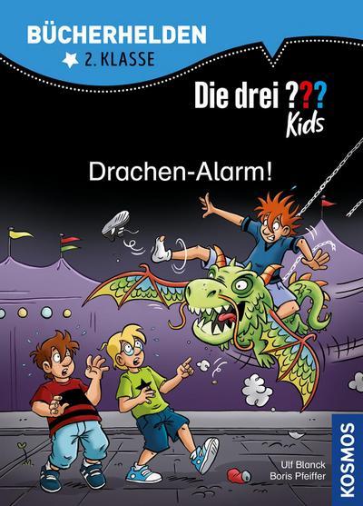 Die drei ??? Kids, Bücherhelden 2. Klasse, Drachen-Alarm!