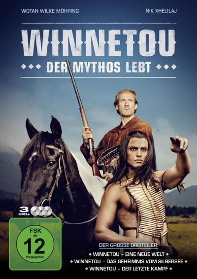 Winnetou - Der Mythos lebt (3 DVD-Box)