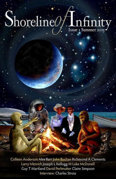 Shoreline of Infinity 1: Science Fiction Magazine (Shoreline of Infinity science fiction magazine, #1)