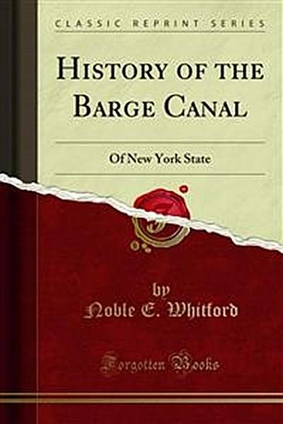 History of the Barge Canal