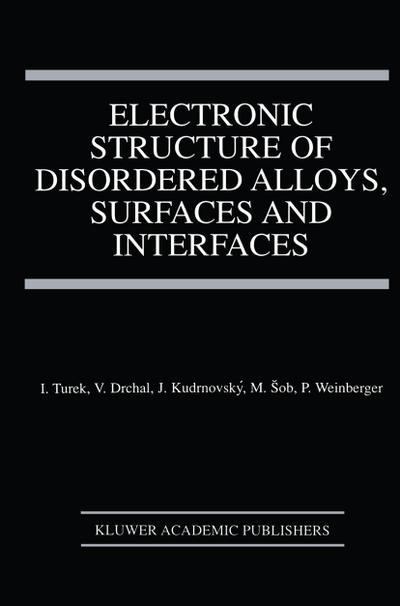 Electronic Structure of Disordered Alloys, Surfaces and Interfaces