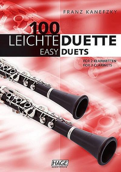 100 leichte Duette für 2 KlarinettenSpielpartitur