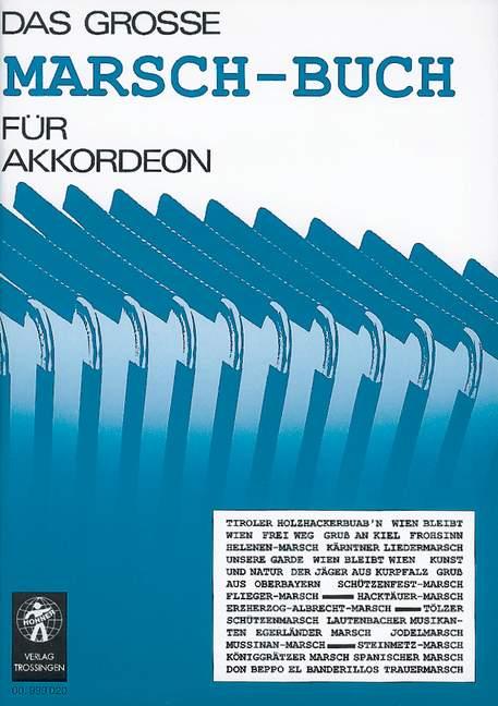 Das große Marsch-Buch für Akkordeon