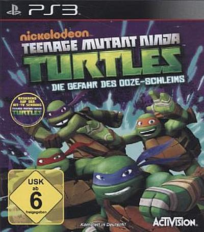 Teenage Mutant Ninja Turtles - Die Gefahr des Ooze-Schleims - [Playstation 3]