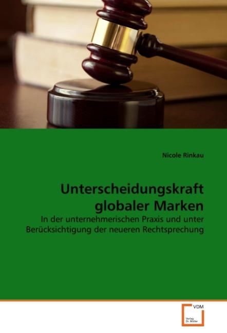 Unterscheidungskraft globaler Marken - Nicole Rinkau -  9783639304756