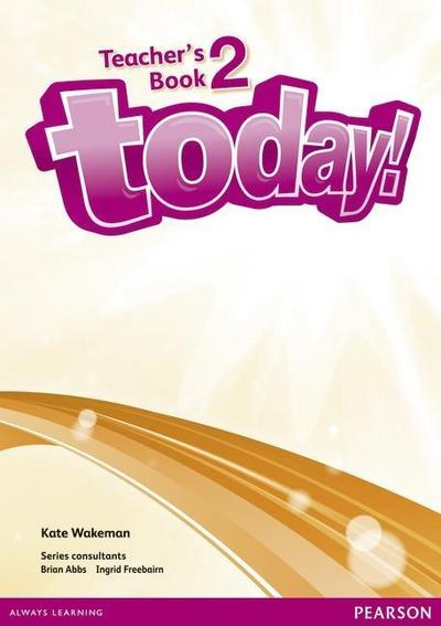 Today! 2 Teacher's Book and DVD Pack
