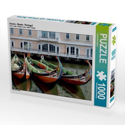 Aveiro - Boote - Portugal (Puzzle)