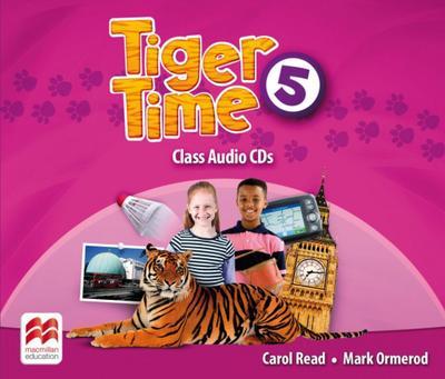 Tiger Time Class Audio-CDs