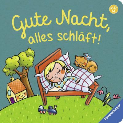 Gute Nacht, alles schläft!; Ill. v. Badstuber, Martina; Deutsch; durchg. farb. Ill. u. Text
