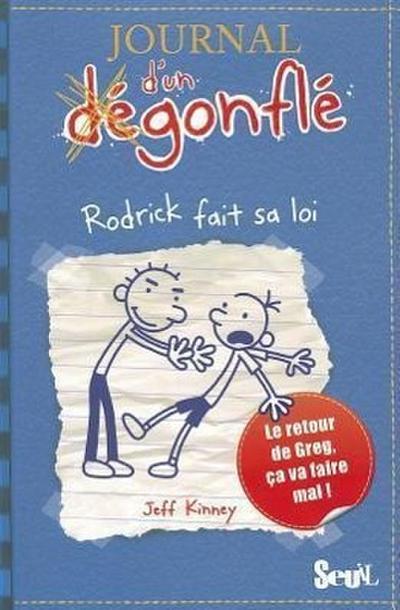 Journal d'un Dégonflé - Rodrick fait sa loi