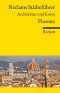 Reclams Städteführer Florenz