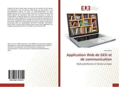 Application Web de GED et de communication