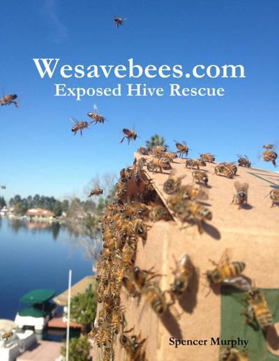 Wesavebees.com: Exposed Hive Rescue