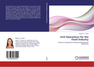 Unit Operations for the Food Industry