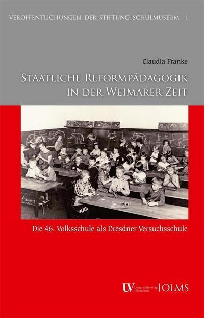 Staatliche Reformpädagogik in der Weimarer Zeit