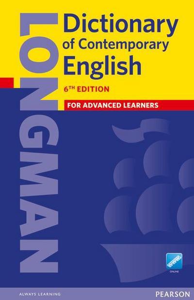 Longman Dictionary of Contemporary English 6 + Online