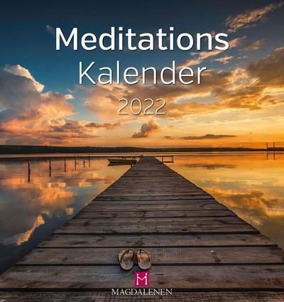Meditations Kalender 2022 Postkartenkalender