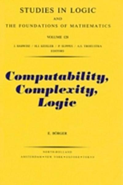 Computability, Complexity, Logic