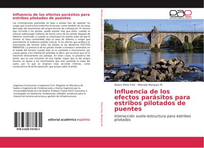 Influencia de los efectos parásitos para estribos pilotados de puentes