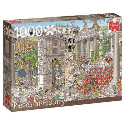 Rob Derks Pieces of History - Die Römer - Puzzle 1000 Teile
