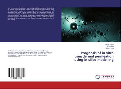 Prognosis of in-vitro transdermal permeation using in silico modelling