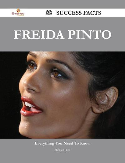 Freida Pinto 38 Success Facts - Everything you need to know about Freida Pinto