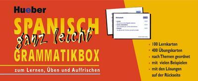 Spanisch ganz leicht Grammatikbox [Sondereinband] by Rudolph, Hildegard