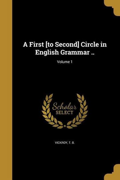 1ST TO 2ND CIRCLE IN ENGLISH G