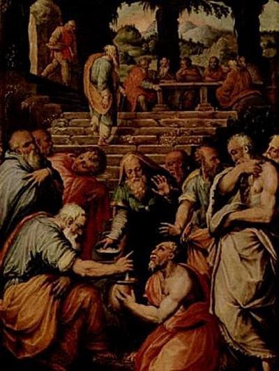 Giorgio Vasari - Der Prophet Elieser - 200 Teile (Puzzle)