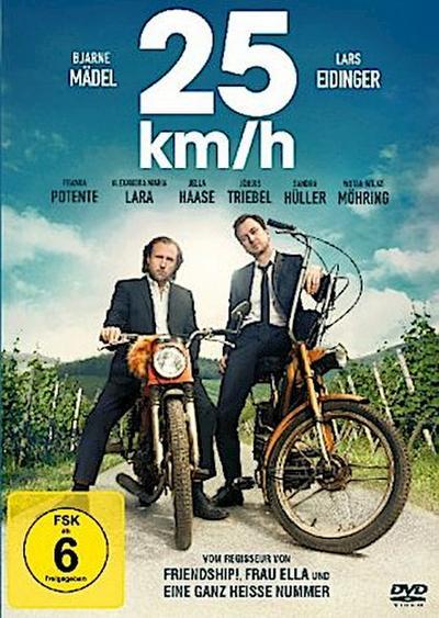 25 km/h, 1 DVD