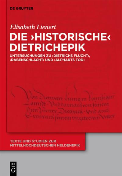 Die 'historische' Dietrichepik