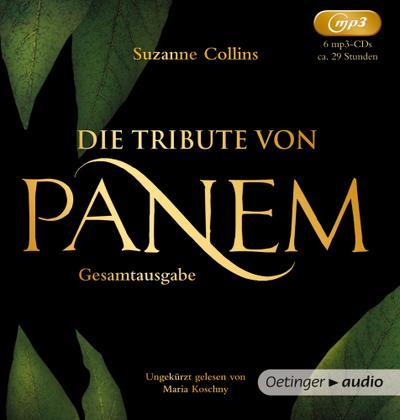 Die Tribute von Panem 1-3 Gesamtausgabe (6 MP3 CDs)