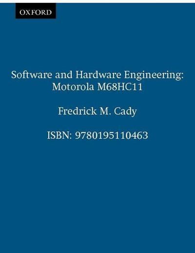Software and Hardware Engineering: Motorola M68hc11