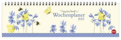 Bastin Wochenquerplaner - Kalender 2022