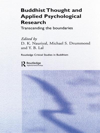 Buddhist Thought and Applied Psychological Research