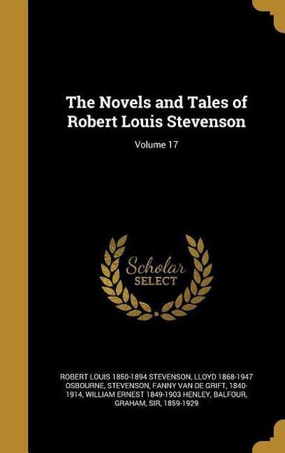 The Novels and Tales of Robert Louis Stevenson; Volume 17