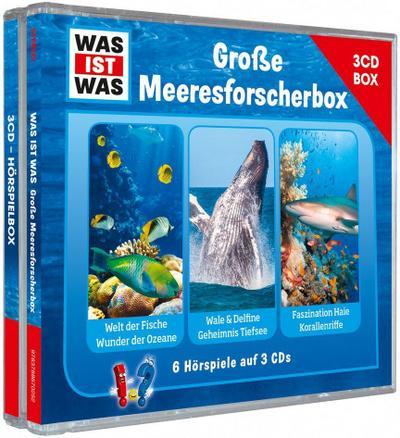 Was ist was Hörspielbox: Meeresforscher-Box