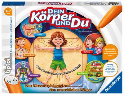 Ravensburger 00560 - Tiptoi - Dein Körper und du, ohne Stift