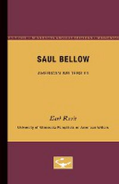 Saul Bellow - American Writers 65: University of Minnesota Pamphlets on American Writers