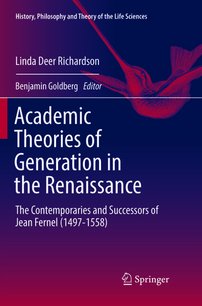 Academic Theories of Generation in the Renaissance