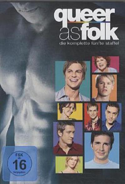 Queer as Folk. Staffel.5, 4 DVDs