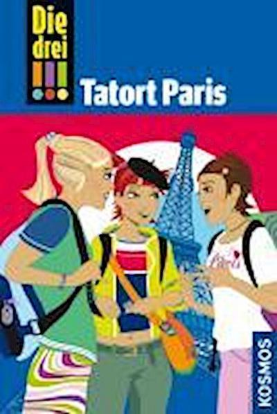 Die drei !!!, 5, Tatort Paris (drei Ausrufezeichen)
