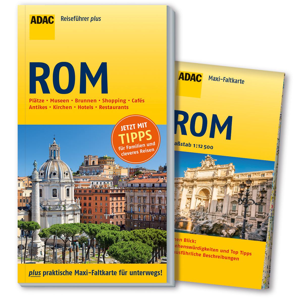 ADAC Reiseführer plus Rom