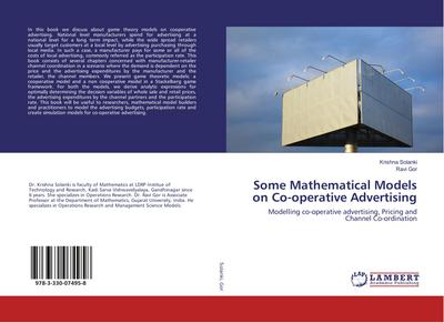 Some Mathematical Models on Co-operative Advertising