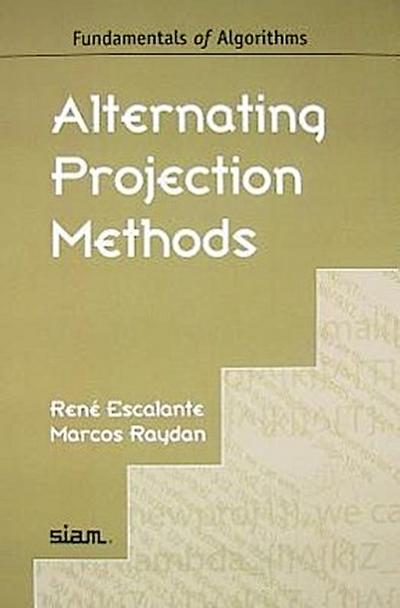 Alternating Projection Methods